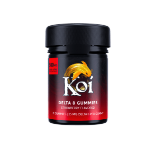 Koi Delta 8 Strawberry Gummies