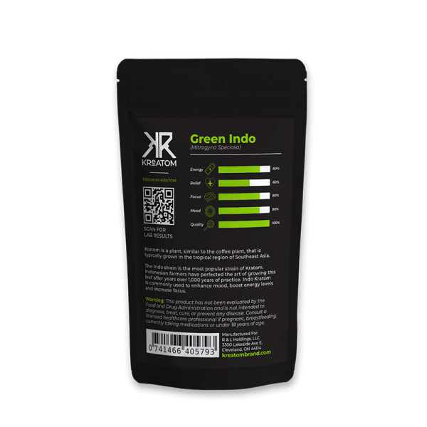 Kreatom Green Indo Kratom Powder