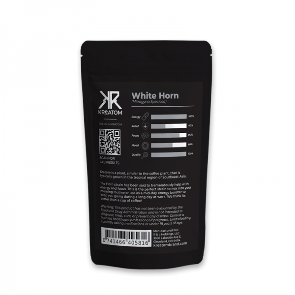 Kreatom White Horn Kratom Powder