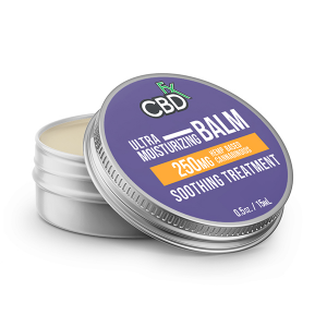 CBDfx Ultra Moisturizing 250mg CBD Mini Balm
