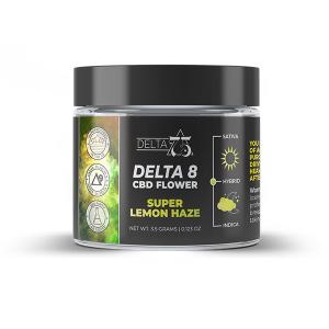 Delta 75 Super Lemon Haze Delta 8 CBD Hemp Flower