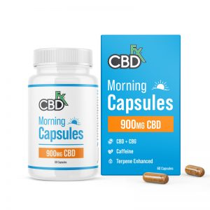 CBDFX Morning Capsules 900MG