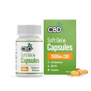 CBDFX Soft Gel Capsules 1500MG