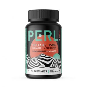 Perl Hemp Co Delta 8 Pomegranate Lemonade 25mg Gummies - 20ct