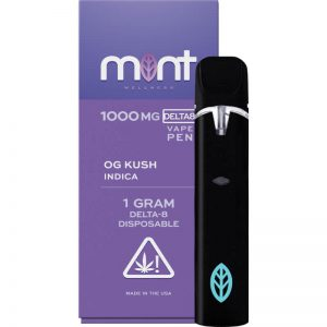 Mint Wellness OG Kush Delta-8 Disposable Vape Device