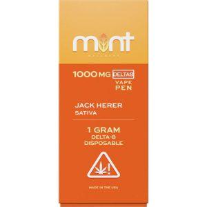 Mint WellnessJack Jerer Delta-8 Disposable Vape Device