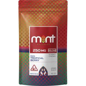 Mint Wellness Delta-8 Baza Blast Gummy Chews 250mg
